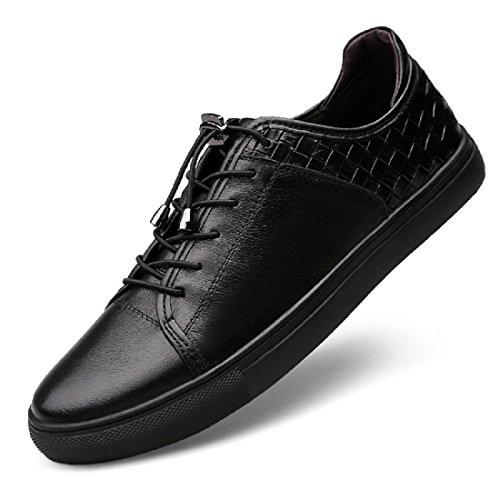 Uomo Ballerine Moda Scarpe sportive formatori Scarpe casual Scarpe da corsa Taglia larga euro DIMENSIONE 36-46 Black