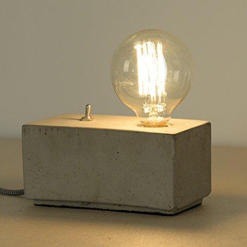 LINA-American retrò tegola di cemento lampade lampade retrò luminosa camera da letto studio studio lampada in