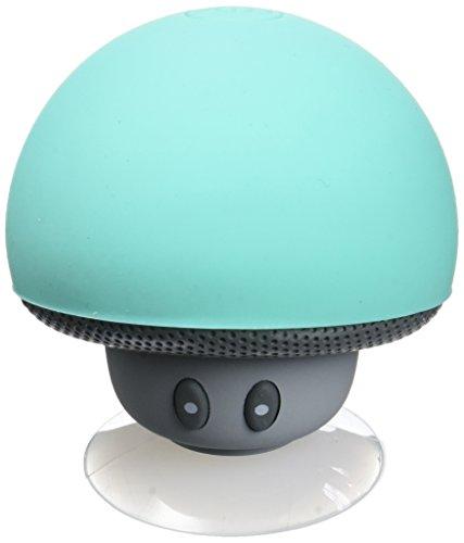 MOB  , Enceinte Bluetooth Waterproof Champignon ,  Se ventouse partout,  Idée cadeau, Vert