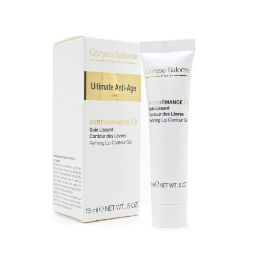 Coryse Salomé Ultimate Antiâge Performance Or Soin Lissant Contour des Lèvres 15 ml