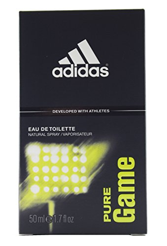 Adidas Pure Game, Eau de Toilette da uomo, 50 ml