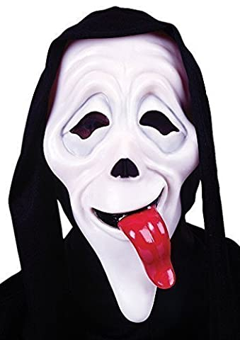 Mens Wassup Scary Movie Mask Film Halloween Scream Horror Fancy Dress Costume Accessory (One size)