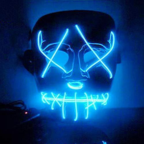 Leuchten Lustige Masken Die Säuberung Wahl Jahr Große Festival Cosplay Kostümzubehör Party Masken Leuchten In Dark-BL ()