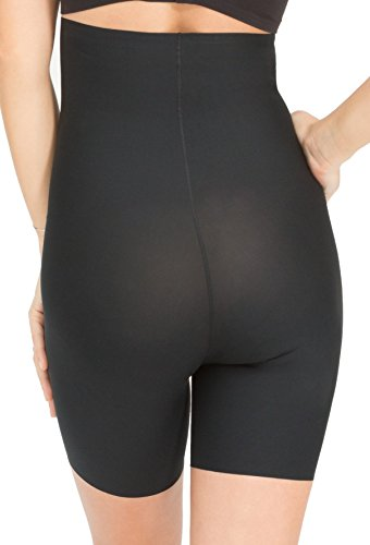 Spanx Damen Miederslip Schwarz - Very Black