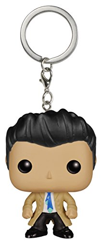 Funko - Porte Clé Supernatural - Castiel Pocket Pop 4cm - 0849803066130