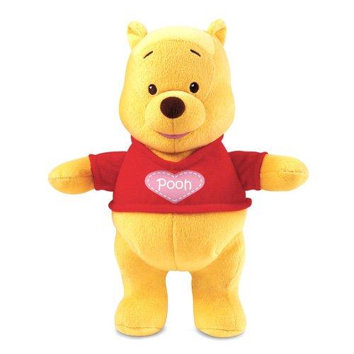 Mattel T2828-0 Disney Winnie the Pooh - Peluche de Winnie the Pooh: Te quiero, con sonido de besos [Importado de Alemania]