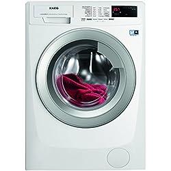 AEG LAVAMAT L69490VFL2 Waschmaschine FL / A+++ / 173 kWh/Jahr / 1400 UpM / 9 kg / Inverter Motor / Endezeitvorwahl/ weiß