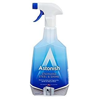 Astonish Stainless Steel Cleaner Trigger 750ml