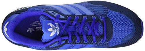 adidas Zx 750, Sneakers Basses homme Bleu (Blue (Bold Blue/Blue/Ftwr White)Bold Blue/Blue/Ftwr White)