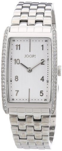 Joop JP101012F06 - Reloj analógico para mujer de acero inoxidable plata