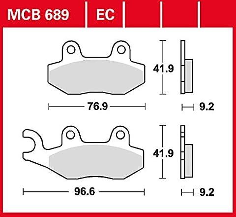 Bremsbelag Lucas MCB689EC organisch für Roller, Scooter,