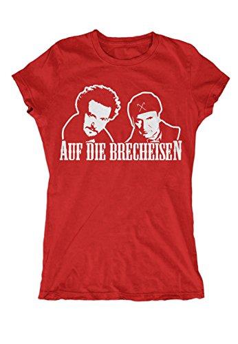 Auf die Brecheisen Girlie (Rot, S) (Bang Theory Schnee)