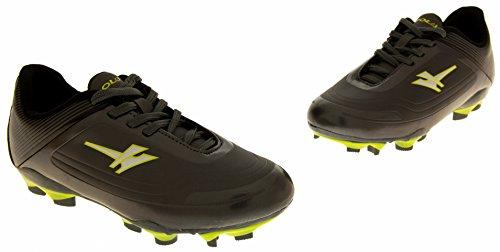 Gola Activo 5 Chaussures de Football Astroturf Garçons - Grey & Slime Green