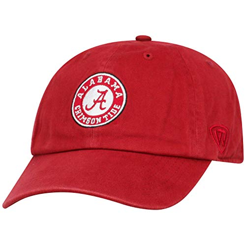 ren Mütze NCAA verstellbar Relaxed Fit Team Arch, Herren, NCAA Men's Adjustable Hat Relaxed Fit Team Arch, Alabama Crimson Tide Crimson, Einstellbar ()