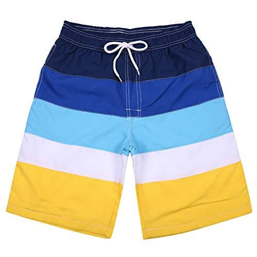 Preisvergleich Produktbild Johiberty Herren Badehose Trocknen schnell am Strand Surfen Laufen Schwimmen Wassershorts Strand Shorts Freizeithosen Sommer Sporthose Beachshorts