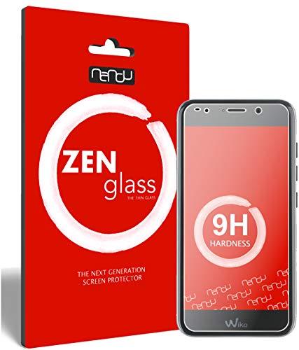ZenGlass (2 Stück Flexible Glas-Folie für Wiko Wim Lite Panzerfolie I Bildschirm-Schutzfolie 9H I (Kleiner Als Das Gewölbte Bildschirm)