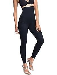 Minimize Abnehmen Frauen Leggings Damen Bauch sprengen Anti-Cellulite Firming Glättung Nahtlose, Hohe Taille Form, Bauch Unterstützung (Set Von 1 Schwarz S-3XL)