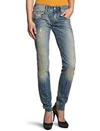 Herrlicher Damen Straight Leg Jeanshose Gila Denim Stretch