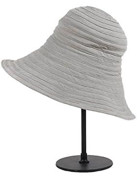 HSNZZPP De Manera Simple La Señora Del Verano Hembra Puede Doblar El Sombrero Ocasional Del Sol Del Recorrido