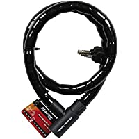 Master Lock Cable antirrobo articulado para bicicletas con cerradura con llave - cable de acero