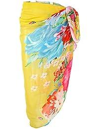 470ab79c6fb74 Amazon.co.uk: Multicolour - Cover-Ups & Sarongs / Swimwear: Clothing