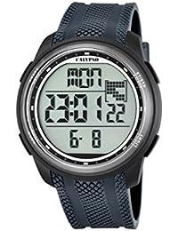 Calypso K5704/6 - Reloj de pulsera Unisex, Plástico, color Azul