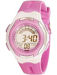 Vizion Digital Multi-color Dial Sports-Alarm-BackLight Watch For Kids-W-854519B-4