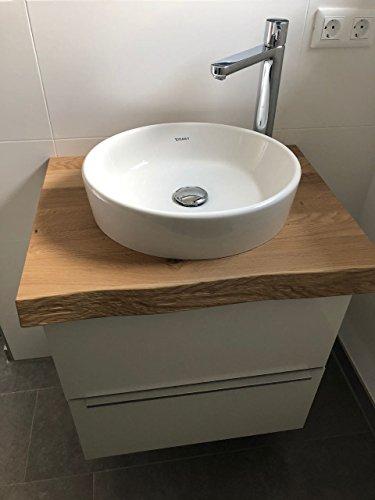 *Waschtisch Eiche massiv, Waschtischplatte Massivholz*