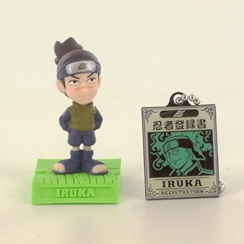 Colección Naruto Figura + Llavero Iruka