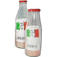 Giosal Botella Italia jarrón para conservas varias dimensiones Cristal Transparente