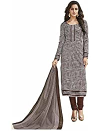 Miraan Women's Cotton Dress Material (SG1832_Free Size_Multi-Coloured)