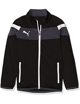 Puma Chaqueta con Capucha para niños Spirit II Woven Jacket, Colour Negro - White, 152, 654661 03