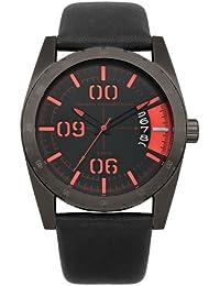 French Connection – Reloj de pulsera hombre Parkside analógico de cuarzo piel fc1169bb