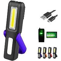 Chenqi Portable Wireless LED lavoro luce borsa ricaricabile con clip magnetica Auto luce magnete emergenza per auto, officina, carica campeggio 1200mAh - Utensili elettrici da giardino - Confronta prezzi