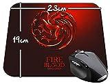 Juego De Tronos Game Of Thrones House Targaryen B Alfombrilla Mousepad PC