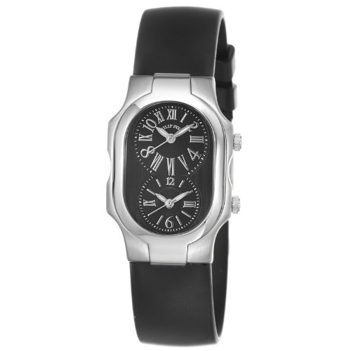 Philip Stein Women's 1-MB-RB Signature Black Rubber Strap Watch