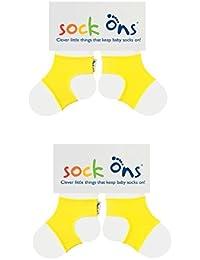 Sock Ons Babysockenhalter, 6-12 Monate, 2er-Pack