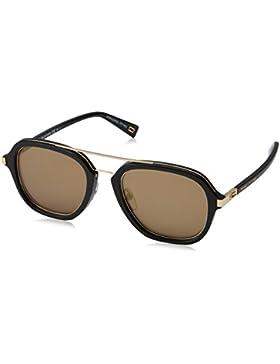 Marc Jacobs Marc 172/S K1, Gafas de Sol Unisex-Adulto, Black Gold, 54