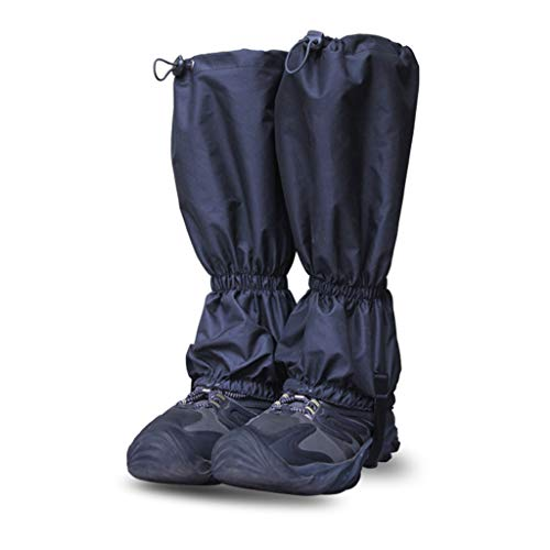 Fliyeong Beinmanschetten wasserdicht Wandern Gamaschen Schuhe Decken Schneegamaschen Outdoor Wandern Klettern Legging Gamasche praktisch für Bergschnee, Unisex