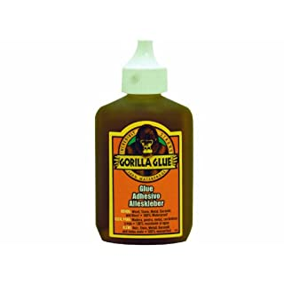 GORILLA GLUE 60ml BONDS WOOD, STONE, METAL, CERAMICS AND MORE