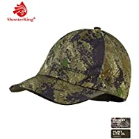 Shooterking Huntflex - Gorra de caza para hombre, diseño de camuflaje, silenciosa e impermeable