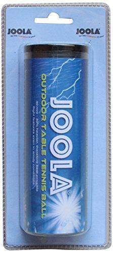 Joola Tischtennisball Outdoor Ball 3er, Weiß, 40 mm, 42180