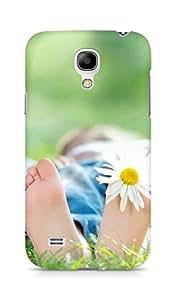 Amez designer printed 3d premium high quality back case cover for Samsung Galaxy S4 Mini (Feet)