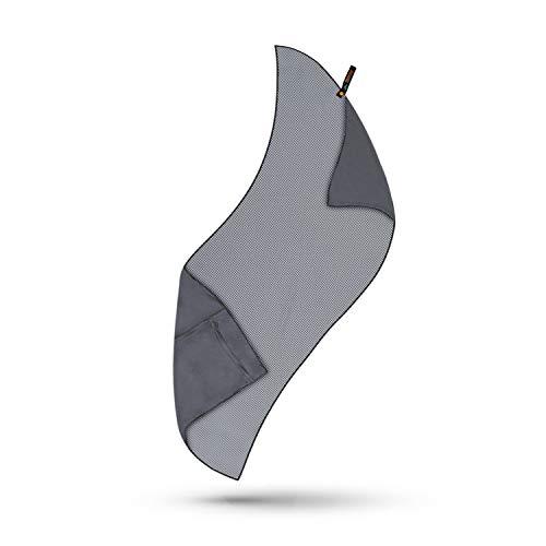 Reiselust Microfaser Badetuch groß - Bambus Reisehandtuch schnelltrocknend & sandfrei - Liege Handtuch für Sonnenliege, ohne Klammern für Strandtuch Mikrofaser - leicht saugstarkes Strandhandtuch XXL Clipper Lightweight Clip