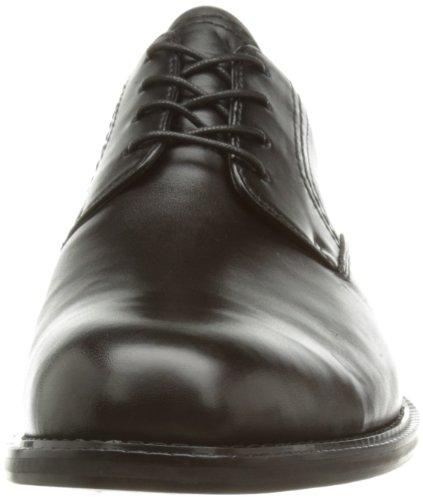 Clarks Dorset Walk 20354991, Herren Schnürhalbschuhe Schwarz (Black Leather)