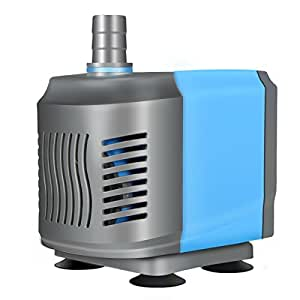 Submersible Water Pump, GOCHANGE 60W 3600L/H 3M Powerhead with 1.4M Power Cord - for Aquarium, Fish Tank, Water Fountain, Hydroponic Pond