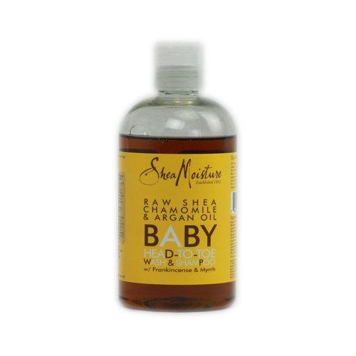 Shea Moisture Organic Raw Shea Chamomile & Argan Oil Baby Head-to-Toe Wash & Shampoo - 12 Oz ( Multi-Pack) by SHEA MOISTURE
