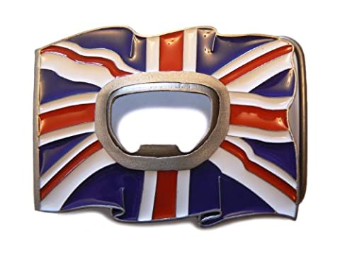 Union Jack bottle opener belt