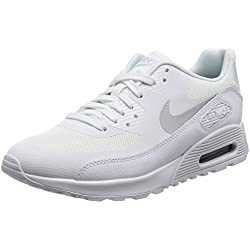 Nike Damen W Air Max 90 Ultra 2.0 Turnschuhe, Elfenbein MTLC Platinum/White/Black, 39 EU