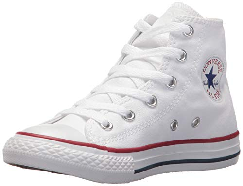 Converse Chuck Taylor All Star Hi 015860-21-3, Unisex - Kinder High-top Sneakers, Weiß (Optical Weiß), EU 25 -